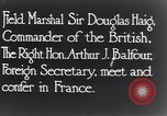 Image of Douglas Haig France, 1935, second 5 stock footage video 65675028104