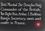 Image of Douglas Haig France, 1935, second 6 stock footage video 65675028104