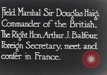 Image of Douglas Haig France, 1935, second 7 stock footage video 65675028104