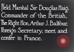 Image of Douglas Haig France, 1935, second 8 stock footage video 65675028104