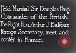Image of Douglas Haig France, 1935, second 9 stock footage video 65675028104