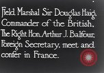Image of Douglas Haig France, 1935, second 12 stock footage video 65675028104