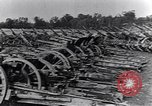 Image of German artillery captured by Canadian forces Western Front European Theater, 1917, second 5 stock footage video 65675028105
