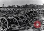 Image of German artillery captured by Canadian forces Western Front European Theater, 1917, second 7 stock footage video 65675028105