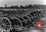 Image of German artillery captured by Canadian forces Western Front European Theater, 1917, second 8 stock footage video 65675028105
