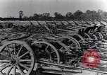 Image of German artillery captured by Canadian forces Western Front European Theater, 1917, second 9 stock footage video 65675028105