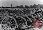 Image of German artillery captured by Canadian forces Western Front European Theater, 1917, second 10 stock footage video 65675028105