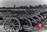Image of German artillery captured by Canadian forces Western Front European Theater, 1917, second 11 stock footage video 65675028105