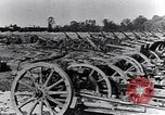 Image of German artillery captured by Canadian forces Western Front European Theater, 1917, second 12 stock footage video 65675028105
