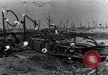 Image of wreckage in field Europe, 1918, second 1 stock footage video 65675028113