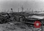 Image of wreckage in field Europe, 1918, second 2 stock footage video 65675028113