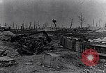 Image of wreckage in field Europe, 1918, second 5 stock footage video 65675028113