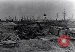 Image of wreckage in field Europe, 1918, second 6 stock footage video 65675028113