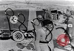 Image of Red Cross ambulances Europe, 1918, second 1 stock footage video 65675028115