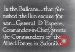 Image of General D Espere Balkans, 1935, second 1 stock footage video 65675028117