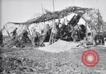 Image of British gunners firing 8-inch howitzer France, 1916, second 11 stock footage video 65675028126