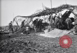 Image of British gunners firing 8-inch howitzer France, 1916, second 12 stock footage video 65675028126