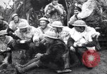 Image of British 5th Army gunners in goatskins France, 1916, second 9 stock footage video 65675028127