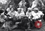 Image of British 5th Army gunners in goatskins France, 1916, second 10 stock footage video 65675028127