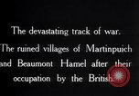 Image of British soldiers France, 1916, second 3 stock footage video 65675028137