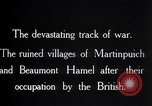 Image of British soldiers France, 1916, second 6 stock footage video 65675028137