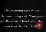 Image of British soldiers France, 1916, second 8 stock footage video 65675028137