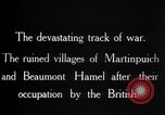 Image of British soldiers France, 1916, second 9 stock footage video 65675028137