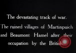Image of British soldiers France, 1916, second 10 stock footage video 65675028137