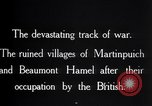 Image of British soldiers France, 1916, second 11 stock footage video 65675028137