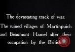 Image of British soldiers France, 1916, second 12 stock footage video 65675028137