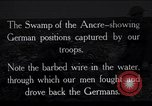 Image of Barbed wire placed by Germans in Ancre River marshes  France, 1916, second 1 stock footage video 65675028138