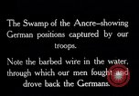 Image of Barbed wire placed by Germans in Ancre River marshes  France, 1916, second 5 stock footage video 65675028138