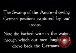 Image of Barbed wire placed by Germans in Ancre River marshes  France, 1916, second 6 stock footage video 65675028138