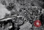 Image of British Mark I tank (male) followed by Allied troops France, 1916, second 12 stock footage video 65675028139