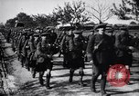 Image of Scottish Cameronians Regiment marching back from the front  France, 1916, second 4 stock footage video 65675028140