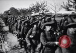 Image of Scottish Cameronians Regiment marching back from the front  France, 1916, second 8 stock footage video 65675028140