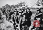Image of Scottish Cameronians Regiment marching back from the front  France, 1916, second 10 stock footage video 65675028140