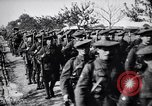 Image of Scottish Cameronians Regiment marching back from the front  France, 1916, second 12 stock footage video 65675028140