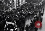 Image of British women march to work in World War 1 effort United Kingdom, 1914, second 8 stock footage video 65675028143