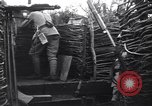 Image of French soldiers in trench World War 1 France, 1918, second 7 stock footage video 65675028156