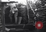 Image of French soldiers in trench World War 1 France, 1918, second 8 stock footage video 65675028156