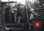 Image of French soldiers in trench World War 1 France, 1918, second 9 stock footage video 65675028156