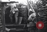 Image of French soldiers in trench World War 1 France, 1918, second 10 stock footage video 65675028156