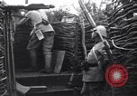 Image of French soldiers in trench World War 1 France, 1918, second 11 stock footage video 65675028156