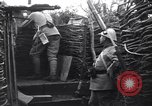 Image of French soldiers in trench World War 1 France, 1918, second 12 stock footage video 65675028156
