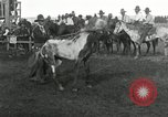 Image of Cowboys Las Vegas New Mexico USA, 1926, second 8 stock footage video 65675028166