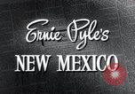 Image of Ernie Pyle's home in Albuquerque New Mexico United States USA, 1945, second 3 stock footage video 65675028197