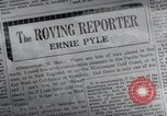Image of Ernie Pyle New Mexico United States USA, 1945, second 10 stock footage video 65675028197