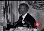Image of Philip Randolph addresses National Press Club Washington DC USA, 1963, second 2 stock footage video 65675028213