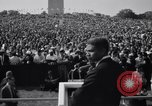 Image of Civil Rights marchers Washington DC USA, 1963, second 2 stock footage video 65675028220